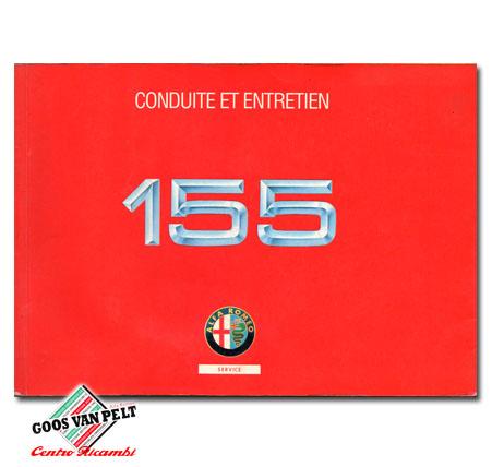 Alfa 155 User Manual 07/1994