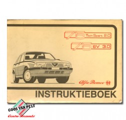 Alfa 75 User Manual for 2.0 TwinSpark and 3.0 V6.