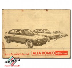 Alfa Romeo Alfasud User Manual.