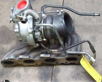 Turbo Alfa 159 1750 TBi complete with exhaust manifold.